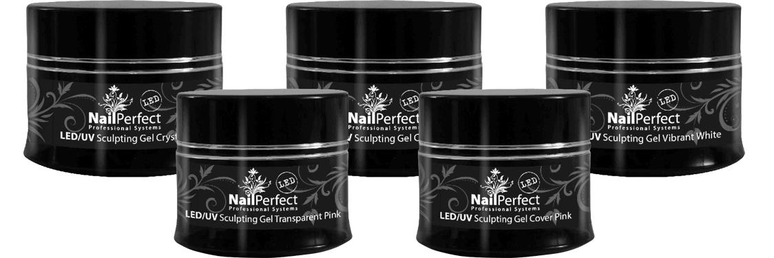 NailPerfect LED UV Sculpting Gels