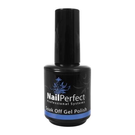 Nail Perfect Soak Off Gel Polish Swaths of Blue 118 (77121)