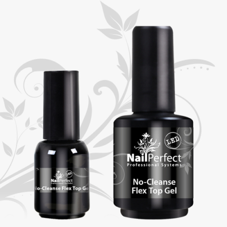 Nail Perfect LED No-Cleanse Flex Top Gel 15ml (75009)