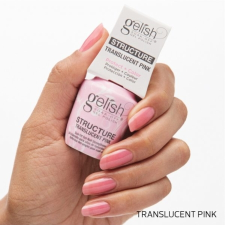 Structure Gel Gelish Translucent Pink 15ml