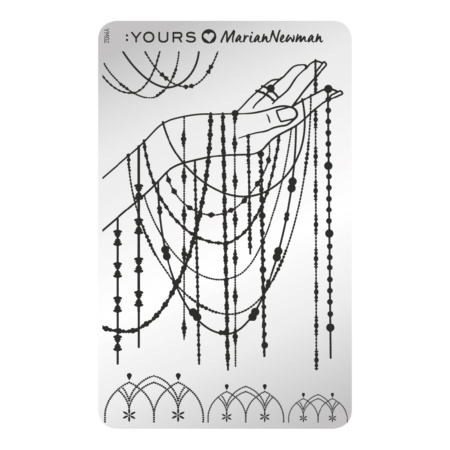 YOURS Stamping Plates Charm of Chains 8719324059091