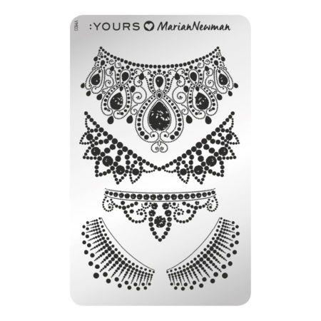 YOURS Stamping Plates  Royal 8719324059145