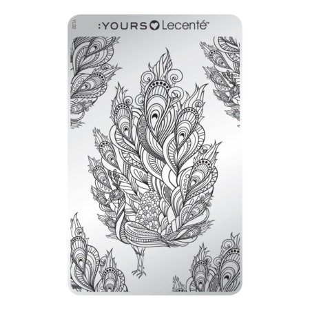 YOURS Stamping Plates Feathertastic 8719324059589