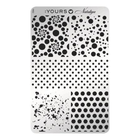 YOURS Stamping Plates Dotticure 8719324059756