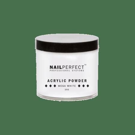 NailPerfect Acryl Poeder Mega White 25gr.(1299851014)