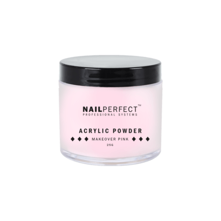 NailPerfect Acryl Poeder Make Over Pink 25gr.(1299851038)